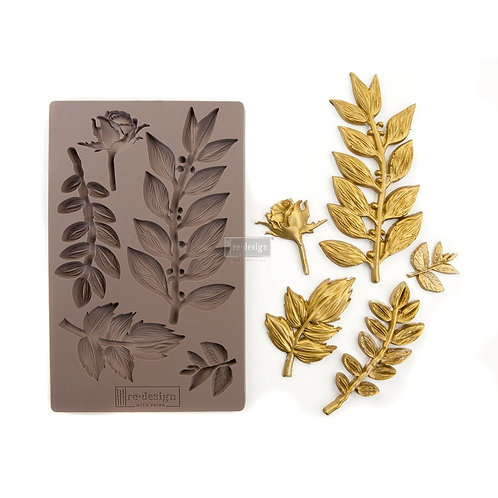 LEAFY BLOSSOMS - Redesign Decor Moulds®