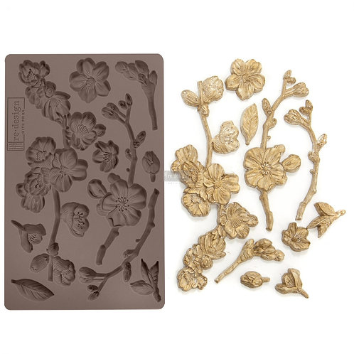 CHERRY BLOSSOMS - Redesign with Prima Decor Moulds®