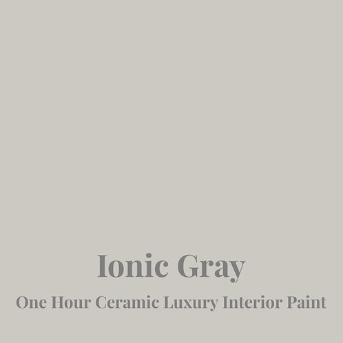 IONIC GRAY One Hour Ceramic FREE SHIPPING!