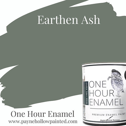 EARTHEN ASH  One Hour Enamel