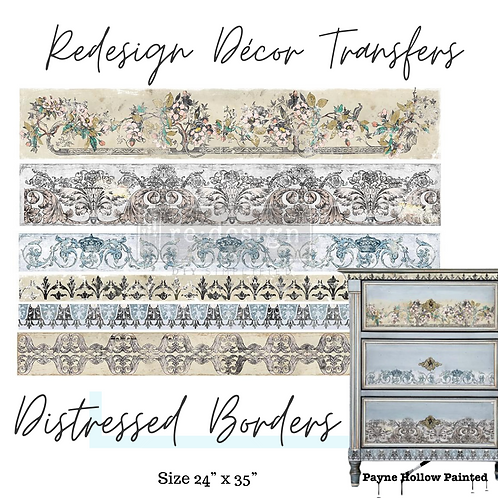 DISTRESSED BORDERS  - Redesign Décor Transfers®