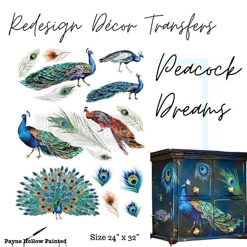 PEACOCK DREAMS - Redesign Décor Transfers®
