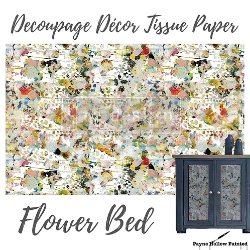 FLOWER BED - Redesign Decoupage Tissue Paper