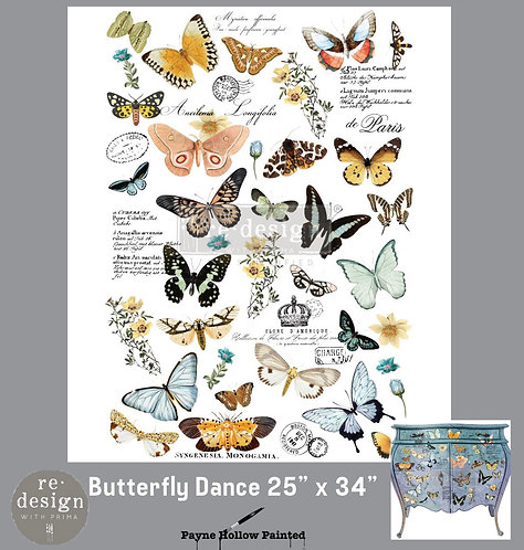 BUTTERFLY DANCE - Redesign Décor Transfers®