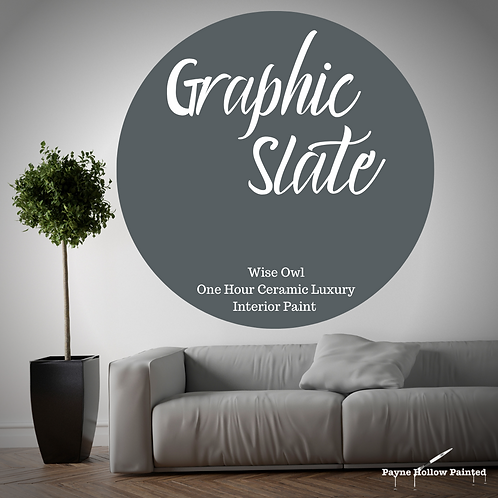 GRAPHIC SLATE One Hour Ceramic FREE SHIPPING!