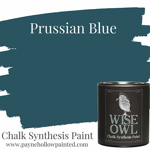 PRUSSIAN BLUE Chalk Synthesis Paint