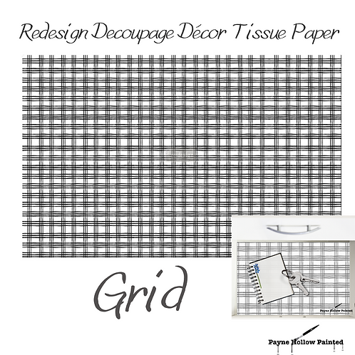 GRID - Redesign Decoupage Tissue Paper