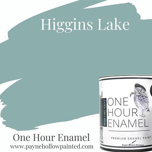 HIGGINS LAKE One Hour Enamel