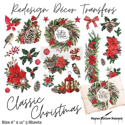 CHRISTMAS  CLASSIC - Redesign Decor Transfers