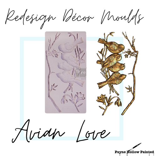 AVIAN LOVE - Redesign Decor Moulds®