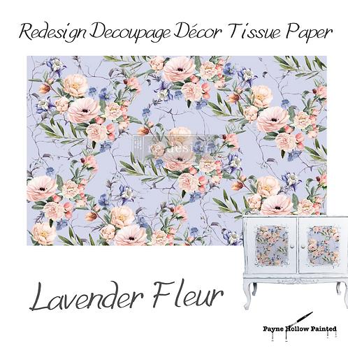 LAVENDAR FLEUR - Redesign Decoupage Tissue Pape