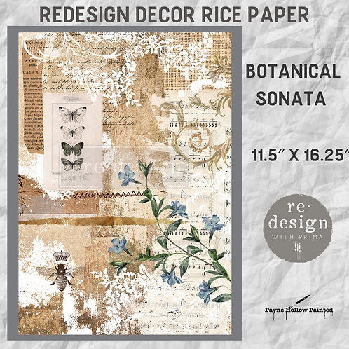 BOTANICAL SONATA  - Redesign Décor Rice Paper