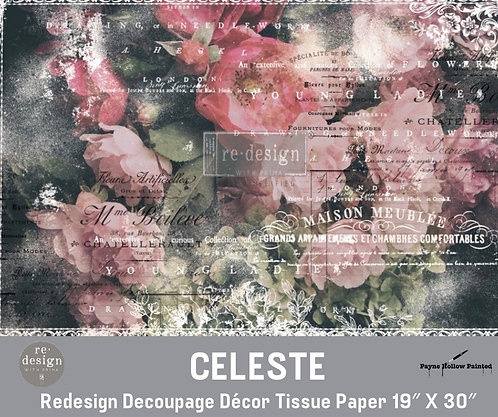 CELESTE - Redesign Decoupage Tissue Paper