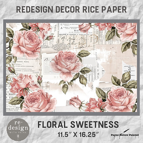 FLORAL SWEETNESS  -  Redesign Décor Rice Paper