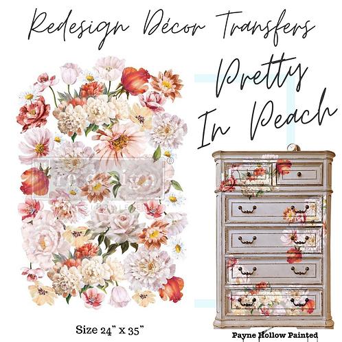 PRETTY IN PEACH  - Redesign Décor Transfers®
