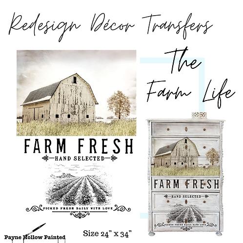 THE FARM LIFE  - Redesign Decor Transfers®