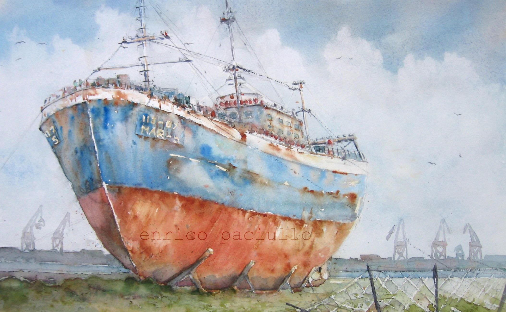 nº 104 Pesquero al puerto