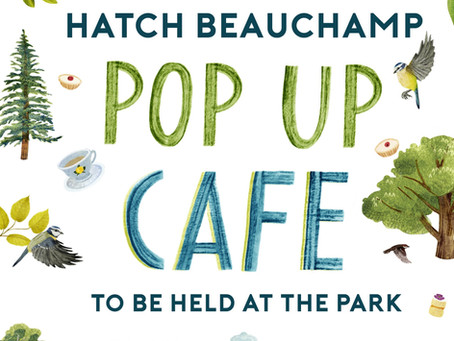 Pop up Cafe - Saturday 17th July