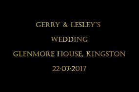 Gerry and Lesley's Wedding Photo Booth Hire Gallery