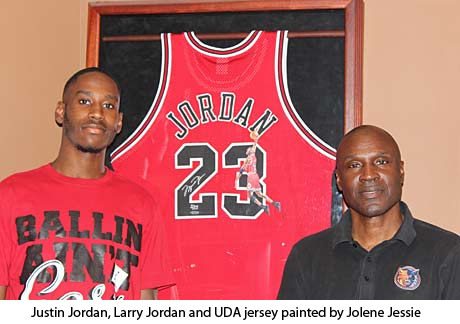 Justin Jordan and Larry Jordan
