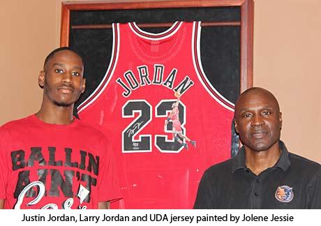 Justin Jordan+Larry Jordan