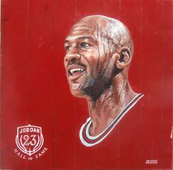 Michael Jordan Bulls floor piece