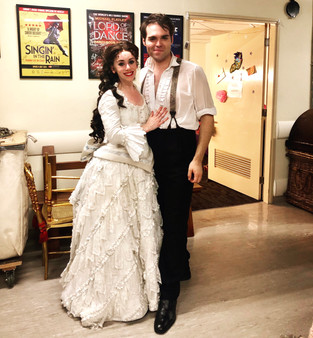 Christine debut - me and Alex post bow.j