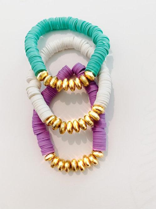 Heishi Statement Bracelets