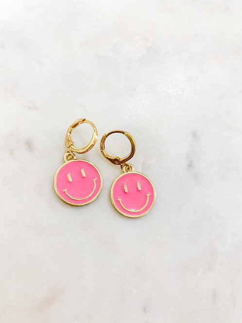 Pink Smiley Huggies
