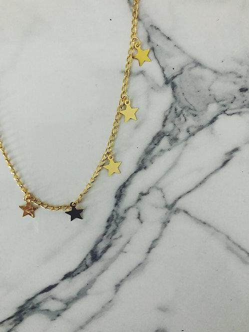 New York gold star choker