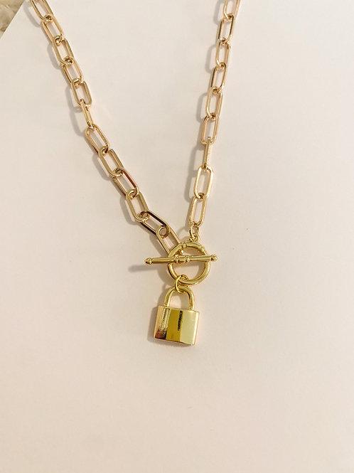 Clasp Lock Necklace