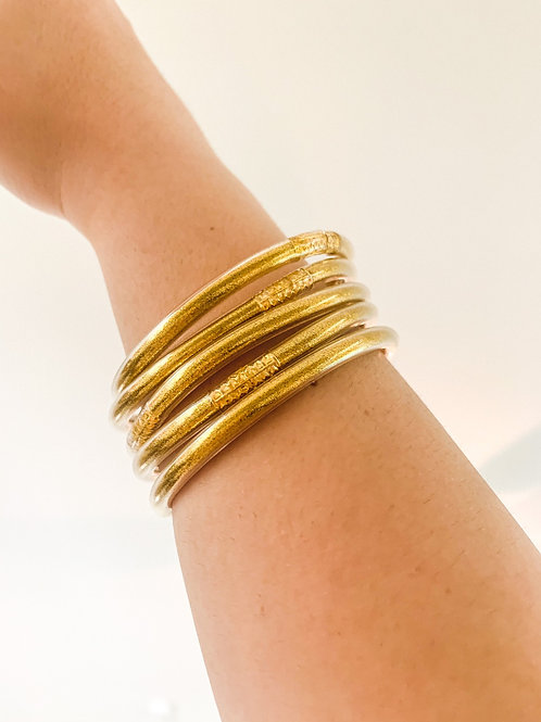 Gold Stacked Bracelets