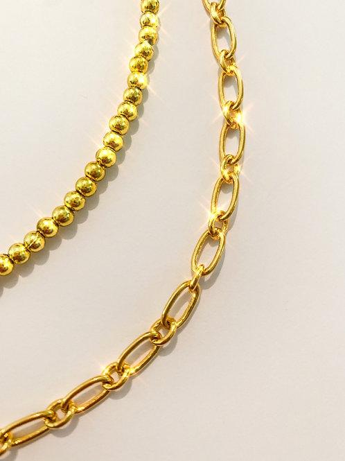Gold Beaded Beauty