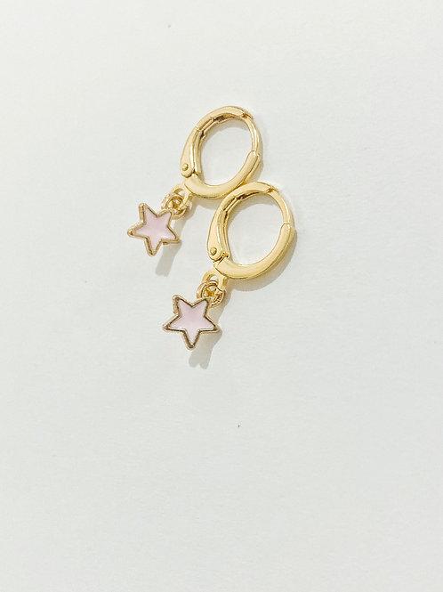 Light Pink Star Huggies