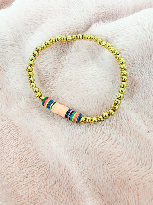 6mm Colorful Beaded Heishi
