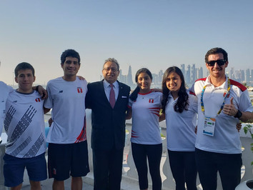 Juegos Mundiales en las Playas de Qatar