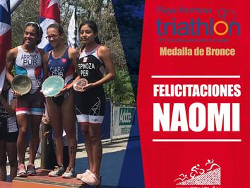¡Naomi Espinoza, Orgullo Nacional!
