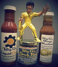Barbecue Sauce Bruce Lee