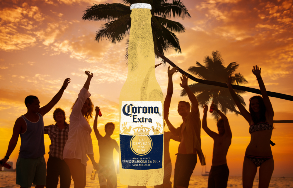 Beach Party Corona Extra