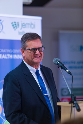 Chris Seebregts at the opening of the Jembi SAMRC Collaborating Centre for Digital Health Innovation Launch