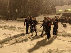 Football snow