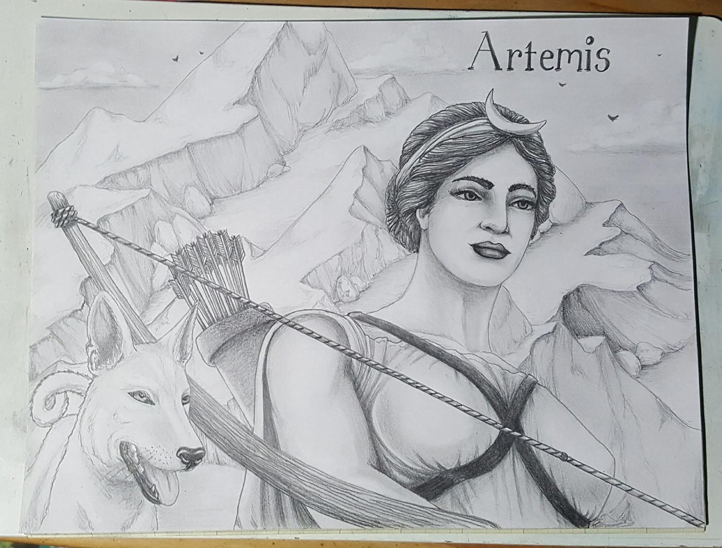 The huntress, Artemis