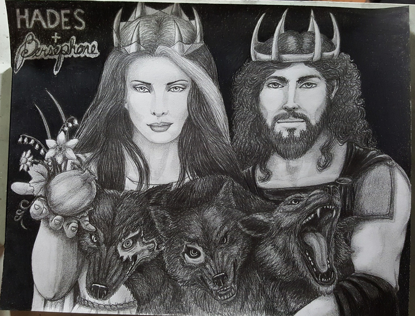 Hades, and Persephone