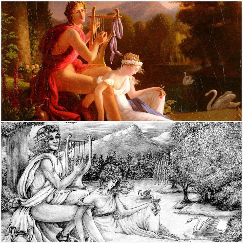 Orpheus, and Euredice