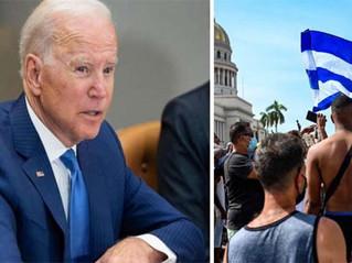 Biden pone nuevas sanciones a Cuba