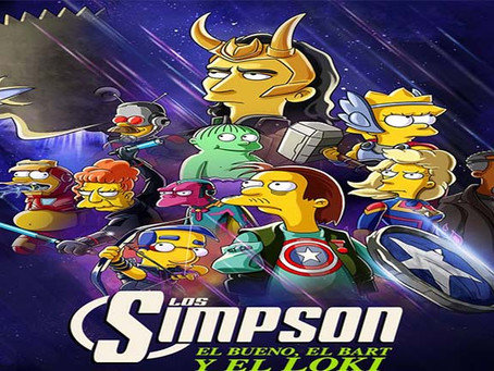 ¡Por fin! Un corto de Marvel y Los Simpson juntos