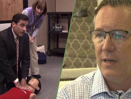 """Un episodio de """"The Office"""" ayudó para que un padre salvara a su hija"""