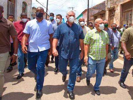 El presidente de Cuba, culpa a Estados Unidos de provaciones