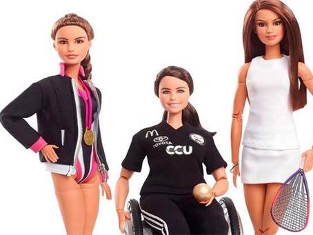 Deportistas mexicanas y una chilena tienen su propia Barbie