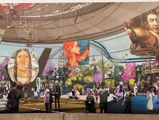 La jefa de Gobierno, Claudia Sheinbaum presenta el Parque Urbano Aztlán